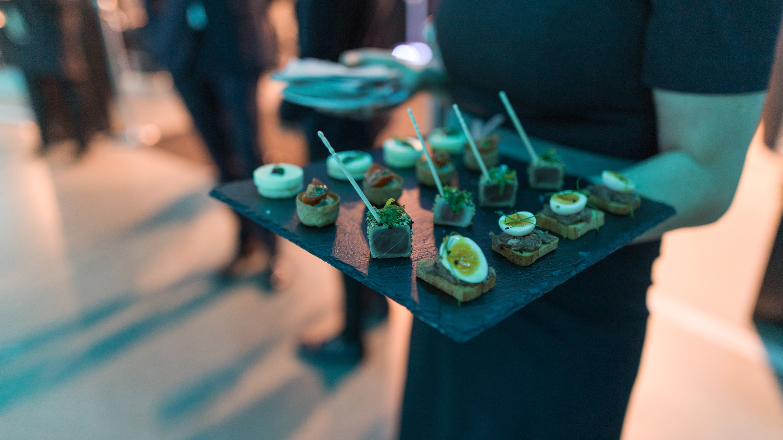 Fingerfood auf Firmenfeier in München