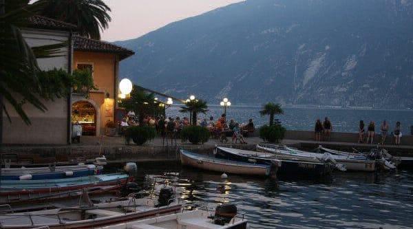 Abendstimmung Gardasee in Bardolino