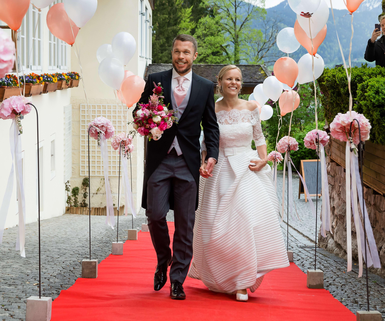 Ariane und Johannes Rabl Hochzeit am Leeberghof Tegernsee