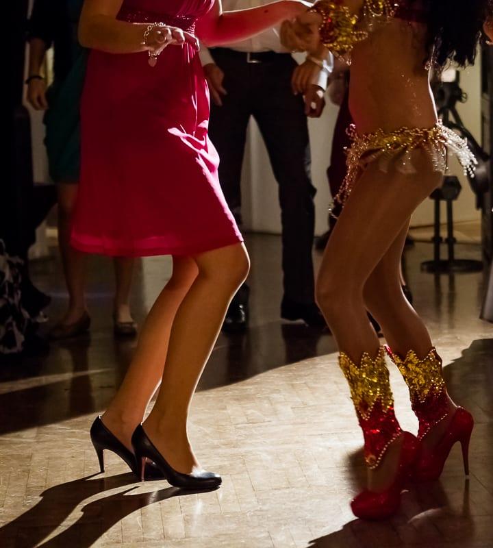 Tanzfläche auch Mottoparty