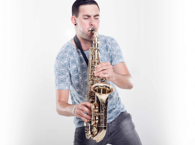 Portrait von Saxophonist Marc Spieler