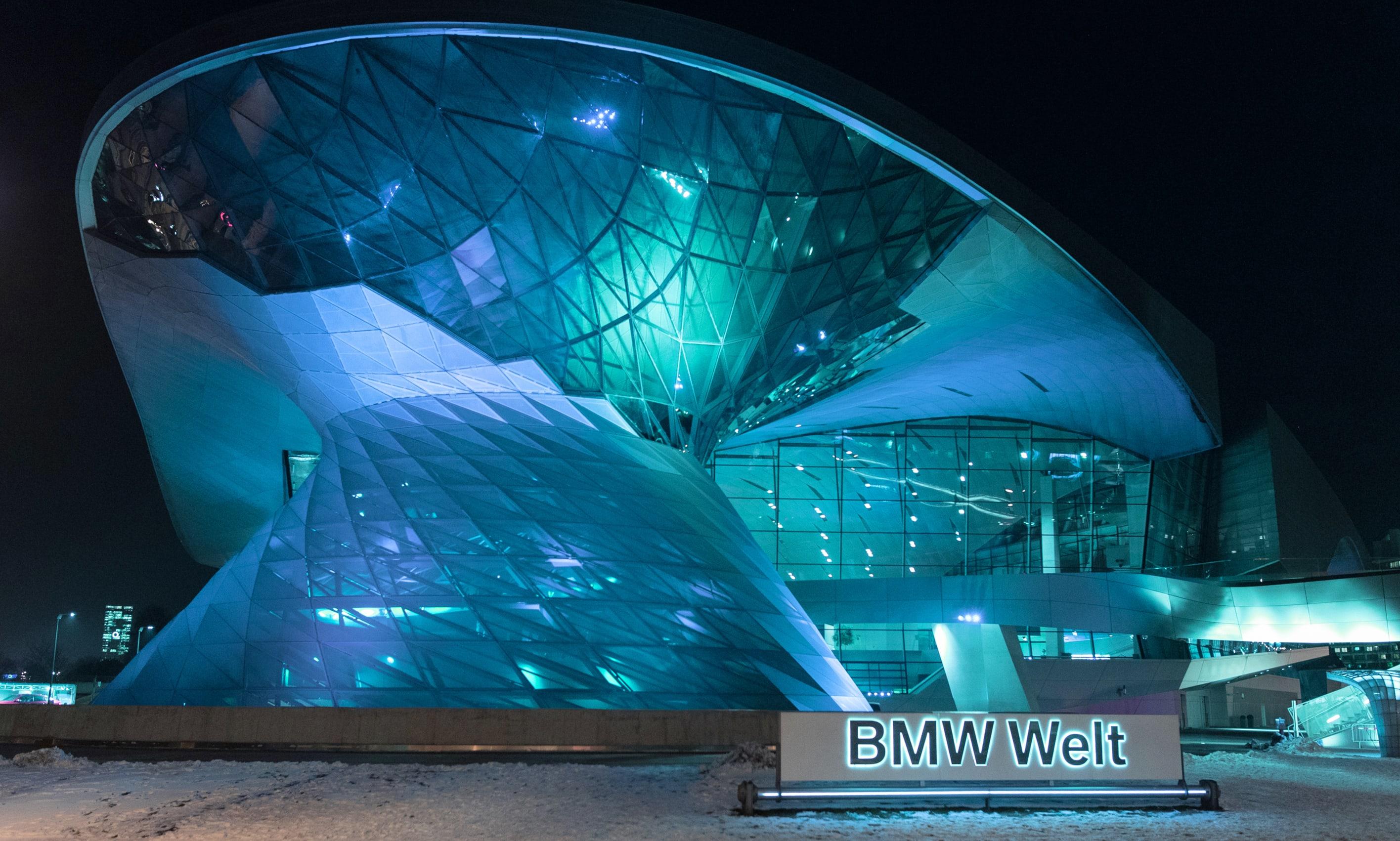 BMW Welt München von außen