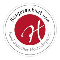 Ausgezeichnet vom Bund der deutschen Hochzeitsplaner