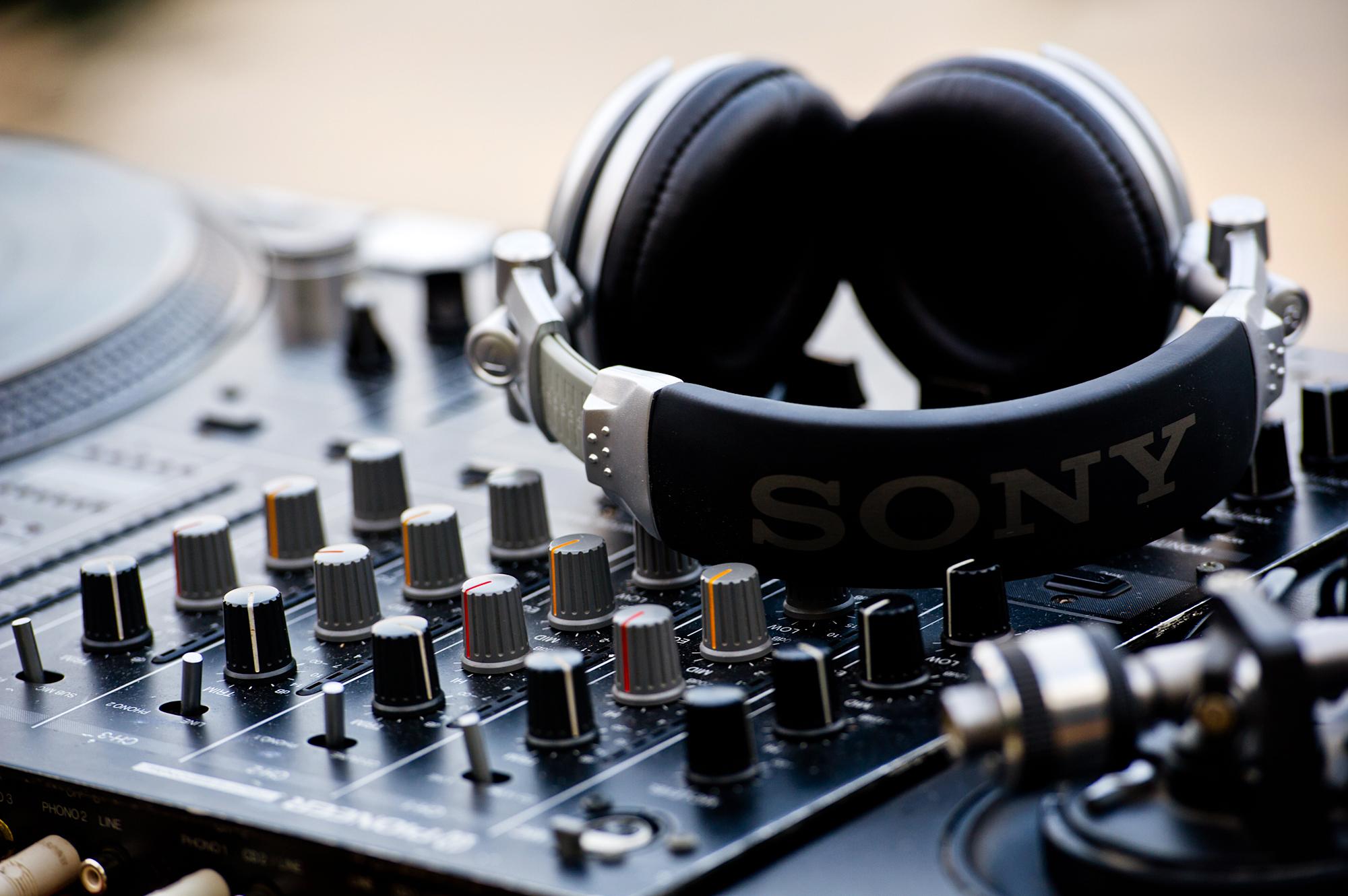 DJ Equipment vom Hochzeits-DJ in München