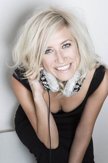 Party-DJane Julia Diamond aus München