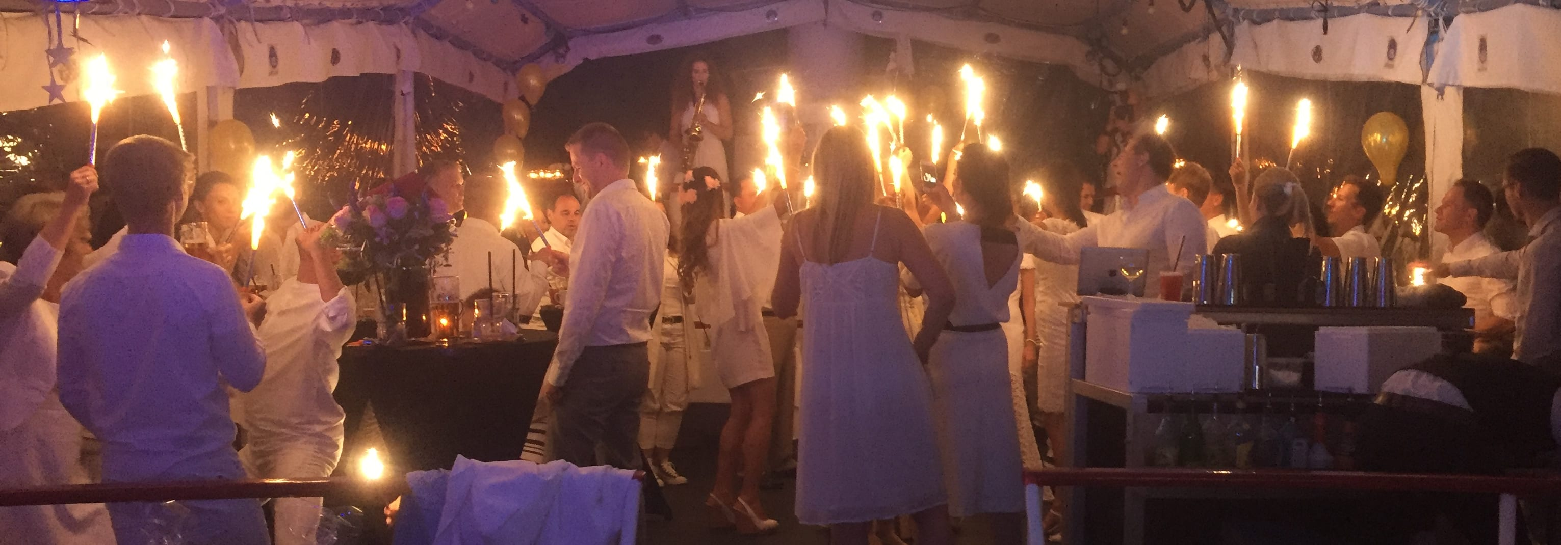 Whiteboat Party am Starnberger See